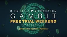 Destiny 2: Forsaken | Kostenloses Gambit Wochenende vom 9. bis 11. November