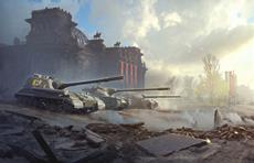 Detailverliebte Karte von Berlin in World of Tanks