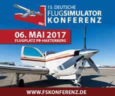 Deutsche Flugsimulator Konferenz lockt am 6. Mai hunderte Luftfahrtbegeisterte nach Paderborn