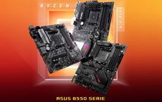 Die neuen ASUS-Mainboards mit AMD B550 Chipsatz