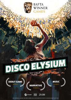 Disco Elysium wins three 2020 BAFTA Games Awards
