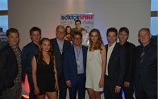 DOKTORSPIELE Premiere am Abend in Frankfurt