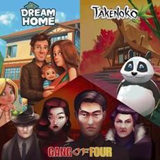 Dream Home, Takenoko und Gang of Four<sup>&trade;</sup> sind ab sofort f&uuml;r Mobile und PC verf&uuml;gbar