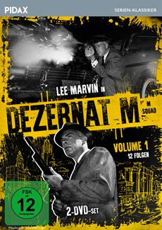 "DVD-VÖ | Vol. 1 der legendären Krimiserie ""Dezernat M"""
