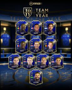 EA SPORTS enthüllt das FIFA 20 Team of the Year