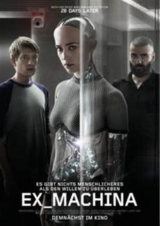 EX_MACHINA - Alex Garlands visionäre Roboter-Evolution - Kinostart 23. April 2015