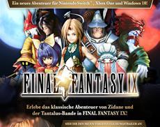 Final Fantasy IX jetzt erhältlich für Nintendo Switch<sup>™</sup>, Xbox One und Windows 10!