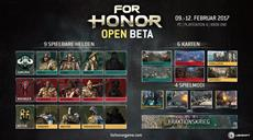 For Honor Open Beta angekündigt