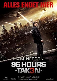 """Liam Neeson ist nicht zu stoppen: Eine Million Zuschauer für """"96 Hours - Taken 3"""""""