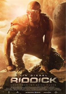 RIDDICK schlägt in den deutschen Kinocharts ein