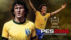 KONAMI ernennt Zico zum neuen Botschafter und Legenden Spieler für PES 2018