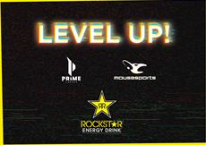 Level up mit Rockstar Energy! Mit mousesports und Prime League setzt Rockstar Energy 2020 auf E-Sports