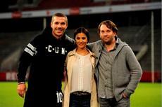 Lukas 'Poldi' Podolski kehrt für MACHO MAN zurück ins Stadion des 1. FC Köln