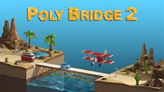 Poly Bridge 2 launches on Steam and the Epic Games Store today!