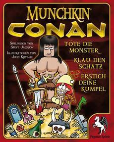 Review (Gesellschaftsspiel): Munchkin Conan