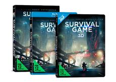 Sci-Fi-Thriller SURVIVAL GAME ab 20.05. als Limited 3D Blu-ray SteelBook und auf DVD