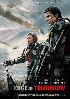Science-Fiction-Thriller EDGE OF TOMORROW (Tom Cruise, Emily Blunt) - ab 29.05.14 im Kino!