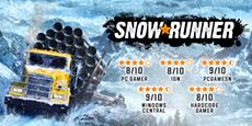 SnowRunner's Season 2 is available today: continue the adventure with new maps, new vehicles, and much more!