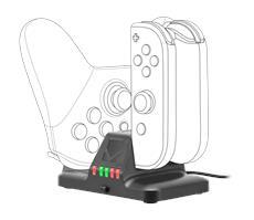 Speedlinks QUAD bringt vierfaches Ladeglück für Nintendo Switch-User