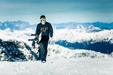 Steep: Digitaler und realer Wintersprot trafen in den Alpen aufeinander