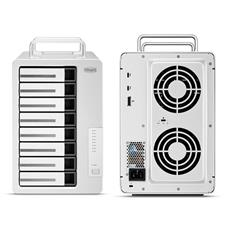 TerraMaster stellt D8 Thunderbolt 3 RAID-Speicher mit 8 Einschüben vor