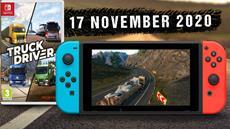 Truck Drivergibt ab 17. November 2020 auch auf der Nintendo SwitchGas