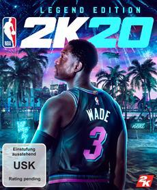 Welcome to the Next! Anthony Davis und Dwyane Wade als legend&auml;re Cover-Stars f&uuml;r NBA<sup>&reg;</sup> 2K20 angek&uuml;ndigt