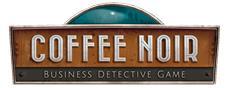 """Werden Sie in """"Coffee Noir"""" zum Undercoveragent und managen Sie Ihre Kaffeebusiness während Sie Kriminalfälle lösen."""