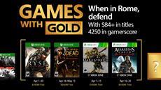 Zeitsprung, Zombies & Zorn der Götter: Das sind die Games with Gold im April