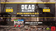 Zombies as a Weapon | Dead Alliance multiplayer open beta launches