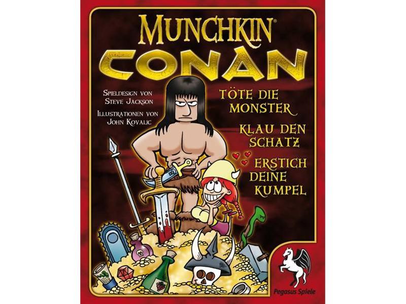 Review (Gesellschaftsspiel): Munchkin Conan - GamesUnit.de