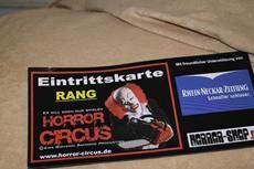 Premiere für den Horror Circus - Das Original in Wiesbaden