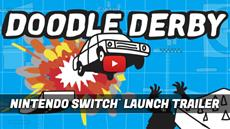 2D Physics Action Game Doodle Derby Available Today for Nintendo Switch