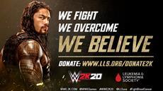 2K gibt weltweite Partnerschaft f&uuml;r WWE<sup>&reg;</sup> 2K20 mit The Leukemia &amp; Lymphoma Society<sup>&reg;</sup> bekannt