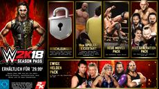 2K kündigt WWE 2K18 Season Pass und DLC-Angebote an