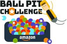 Amazon bringt die Bällebad-Challenge zur gamescom 2018