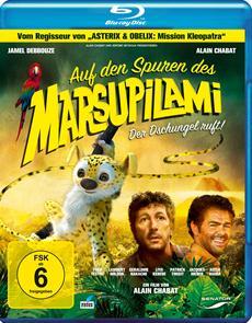 Über fünf Millionen Kinozuschauer in Frankreich und ab 8. März 2013 hierzulande fürs Heimkino erhältlich: AUF DEN SPUREN DES MARSUPILAMI