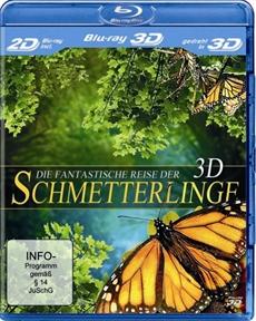 DVD-VÖ   DIE FANTASTISCHE REISE DER SCHMETTERLINGE auf Blu-ray 3D