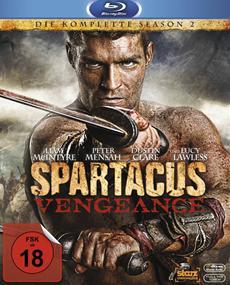 Spartacus Vengeance: Staffel 2 der bildgewaltigsten TV-Serie aller Zeiten kehrt nun endlich in die heimische Arena zurück