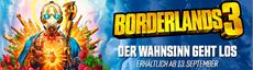 "Borderlands 3: ""Claptrap präsentiert: Pandora"""