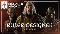 Crusader Kings III adds Ruler Designer in New Update