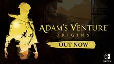 """Das Abenteuerspiel """"Adam's Venture: Origins"""" ist jetzt auch f&uuml;r Nintendo Switch<sup>&trade;</sup> verf&uuml;gbar"""