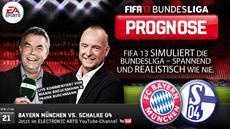 Die FIFA 13 Bundesliga Prognose: Der FC Bayern lädt Schalke 04 zum Tanz