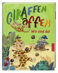 Die Giraffenaffen sind los! - Fantasievolle Kinderbuchreihe und Hörspiele mit Lena Meyer-Landrut, Annett Louisan, Roger Cicero, Heinz Rudolf Kunze und Stefan Kaminski