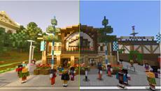 Die Pixelbiester laden zum ersten Blocktoberfest in Minecraft ein!