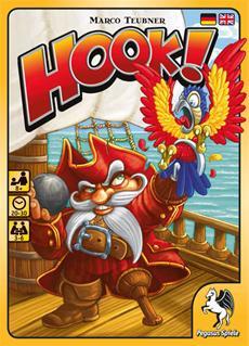 Die turbulente Neuveröffentlichung Hook von Pegasus Spiele fordert die flinken Finger aufgeweckter Seeräuber.
