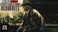 Diese Woche in Red Dead Online: 2x-Belohnungen fürs Plündern von Lagern und Anwesen, kostenlose Emotes & mehr