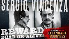 Diese Woche in Red Dead Online: Legendäre Kopfgeldjagd auf Sergio Vincenza, die Naturliebhaber-Sammlung & mehr