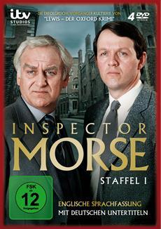 DVD-VÖ   Inspector Morse, Staffel 1