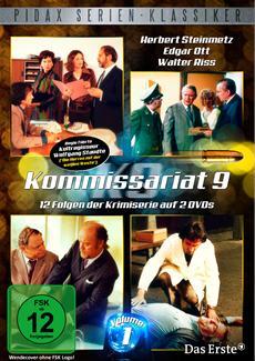 DVD-VÖ | Kommissariat 9, Vol. 1 - 12 Folgen